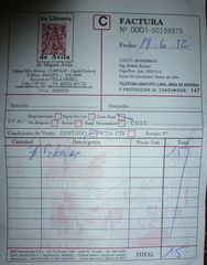 Quittung - factura, postal, postales