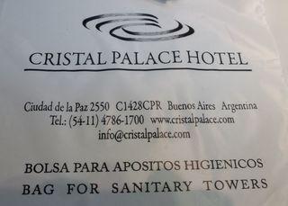 Hinweisschild zu Hygienebeutel.... - bolsa, apositos hygienicos