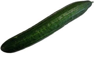 Salatgurke - Gurke, Salatgurke, grün, roh, Gemüse, Gurke, Kürbisgewächs, Schlangengurke