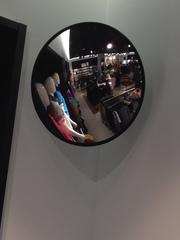 Wölbspiegel Anwendung - Wölbspiegel, Optik, konvex, Konvexer Spiegel, Weitwinkeleffekt, erhabene Spiegel