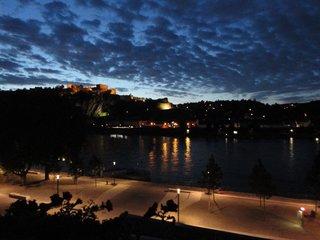 Festung Ehrenbreitstein am frühen Morgen - Festung, Koblenz, Rhein, Mosel, 16 Jahrhundert, Sehenswürdigkeit, Unesco Welterbe