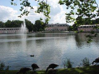 Schloss Benrath, Düsseldorf #2 - Schloss, Benrath, Düsseldorf, Barock, Rokoko, Klassizismus, Fontäne