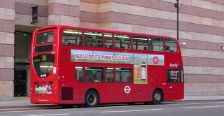 Big Red Bus - Doppeldecker, Doppeldeckerbus, double deckers, Routemaster, Red bus, Stadtbus, London, Bus, rot, Symbol, 2 Etagen, Routemaster, Verkehrsmittel, Transport
