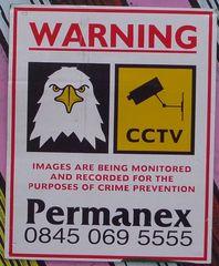 Hinweissschild zur Sicherheit 02 - sign, English, warning