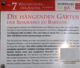 Die sieben antiken Weltwunder #1b - Erklärung - Weltwunder, Gärten, Semiramis, Erklärung