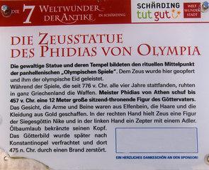 Die sieben antiken Weltwunder #2b Erklärung - Zeus, Erklärung