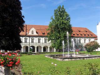 Kloster Benediktbeuern #1 - Kloster, Klosterkirche, St Benedikt, Benediktiner, katholisch, Orden