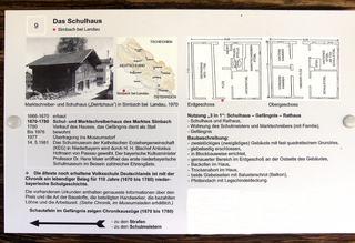 Schulhaus im 17. – 18. Jahrhundert #4 Erklärung - Schulhaus, Schule, Rathaus, Gefängnis, Erklärung, Grundriss, Information, Info