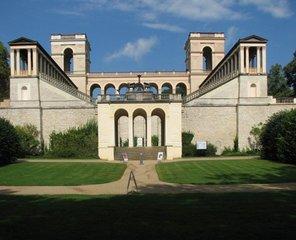 Potsdam, Belvedere #3 - Potsdam, Belvedere, Preußen, Preussen, Neorenaissance, Schloss, symmetrisch, Symmetrie