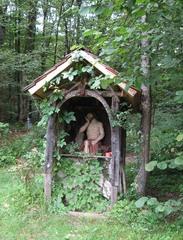 Waldkapelle - Kapelle, Religion, Glaube, beten, Andacht, Schutz, spirituell, Dank, ruhen, andächtig, Bildstöckl, Bildstöckl-Kapelle, Gedächtniskapelle