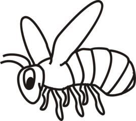 Biene - Bienen, Insekten, Anlaut B, Wörter mit ie