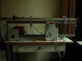 Fahrbahn zur Messung der Beschleunigung - Physik, Mechanik, Luftkissenbahn, Beschleunigung, Fahrbahn, Newton, Gewichtskraft, Bewegung