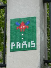 Space Invaders Paris #1 - Streetart, Invader, Space Invaders, Paris, Mosaik