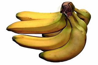 Bananen - Banane, Bananen, Obst, beliebt, Schale, gelb, essbar, Staude, exotisch, Frucht, Früchte