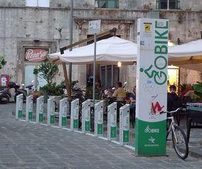 Ladestation für E-Bikes - Ladestation, Ebike, Verkehr, Umweltschutz