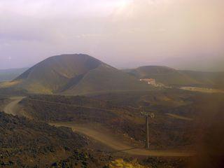 Ätna #08 - Ätna, Etna, Vulkan, Lava, Lavafeld