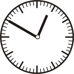 Uhrzeit 12.50 - 0.50 - Uhr, 10 Minuten vor, Uhrzeit, Zeit, Zeitspanne, Zeitpunkt, Zeiger, Mechanik, Zeitskala, Zeitgeber, Analoguhr, Zifferblatt, Ziffernblatt, rechtsdrehend, Uhrzeigersinn, Minute, Stunde, Kreis, Winkel, Grad, Mathematik, Größen, messen, time, clock, ermitteln, Zeitraum, Dauer, Frist, Termin, Zeitabschnitt