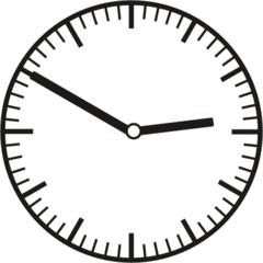 Uhrzeit 2.50 - 14.50 - Uhr, 10 Minuten vor, Uhrzeit, Zeit, Zeitspanne, Zeitpunkt, Zeiger, Mechanik, Zeitskala, Zeitgeber, Analoguhr, Zifferblatt, Ziffernblatt, rechtsdrehend, Uhrzeigersinn, Minute, Stunde, Kreis, Winkel, Grad, Mathematik, Größen, messen, time, clock, ermitteln, Zeitraum, Dauer, Frist, Termin, Zeitabschnitt