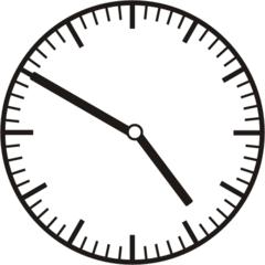 Uhrzeit 4.50 - 16.50 - Uhr, 10 Minuten vor, Uhrzeit, Zeit, Zeitspanne, Zeitpunkt, Zeiger, Mechanik, Zeitskala, Zeitgeber, Analoguhr, Zifferblatt, Ziffernblatt, rechtsdrehend, Uhrzeigersinn, Minute, Stunde, Kreis, Winkel, Grad, Mathematik, Größen, messen, time, clock, ermitteln, Zeitraum, Dauer, Frist, Termin, Zeitabschnitt