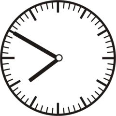 Uhrzeit 7.50 - 19.50 - Uhr, 10 Minuten vor, Uhrzeit, Zeit, Zeitspanne, Zeitpunkt, Zeiger, Mechanik, Zeitskala, Zeitgeber, Analoguhr, Zifferblatt, Ziffernblatt, rechtsdrehend, Uhrzeigersinn, Minute, Stunde, Kreis, Winkel, Grad, Mathematik, Größen, messen, time, clock, ermitteln, Zeitraum, Dauer, Frist, Termin, Zeitabschnitt