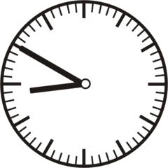 Uhrzeit 8.50 -  20.50 - Uhr, 10 Minuten vor, Uhrzeit, Zeit, Zeitspanne, Zeitpunkt, Zeiger, Mechanik, Zeitskala, Zeitgeber, Analoguhr, Zifferblatt, Ziffernblatt, rechtsdrehend, Uhrzeigersinn, Minute, Stunde, Kreis, Winkel, Grad, Mathematik, Größen, messen, time, clock, ermitteln, Zeitraum, Dauer, Frist, Termin, Zeitabschnitt