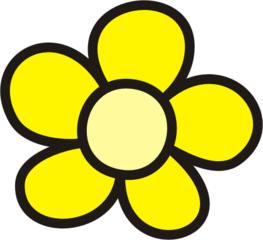Blüte gelb - Blütenblatt, Blütenblätter, Blume, Blumen, Garten, Wiese, Anlaut B