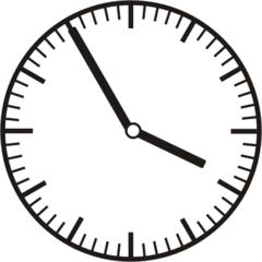 Uhrzeit 3.55 - 15.55 - Uhr, 5 Minuten vor, Uhrzeit, Zeit, Zeitspanne, Zeitpunkt, Zeiger, Mechanik, Zeitskala, Zeitgeber, Analoguhr, Zifferblatt, Ziffernblatt, rechtsdrehend, Uhrzeigersinn, Minute, Stunde, Kreis, Winkel, Grad, Mathematik, Größen, messen, time, clock, ermitteln, Zeitraum, Dauer, Frist, Termin, Zeitabschnitt