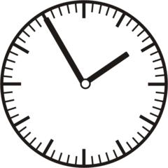 Uhrzeit 1.55 - 13.55 - Uhr, 5 Minuten vor, Uhrzeit, Zeit, Zeitspanne, Zeitpunkt, Zeiger, Mechanik, Zeitskala, Zeitgeber, Analoguhr, Zifferblatt, Ziffernblatt, rechtsdrehend, Uhrzeigersinn, Minute, Stunde, Kreis, Winkel, Grad, Mathematik, Größen, messen, time, clock, ermitteln, Zeitraum, Dauer, Frist, Termin, Zeitabschnitt