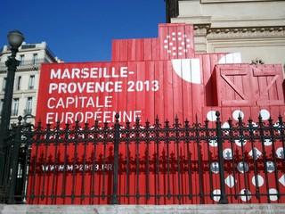 Marseille - Kulturhauptstadt Europas - Marseille, Stadt, Kultur, Kulturhauptstadt, Werbung, werben, Container