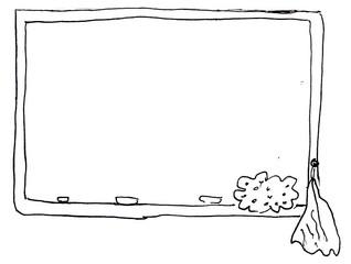 Tafel Clipart Schwarz Weiß