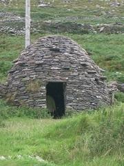 Bienenkorbhütte - Bienenkorbhütte, Behausung, Mönch, Irland, frühchristlich, Gebäude, Skellig