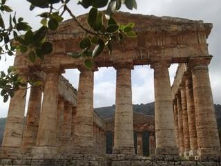 Dorischer Tempel #2 - Griechen, dorisch, Tempel, Antike, Griechenland, Architektur