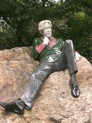 Oscar Wilde - Oscar Wilde, Schriftsteller, berühmte Persönlichkeiten, Denkmal, Sehenswürdigkeiten, Dublin, Irland
