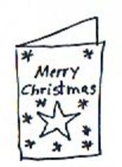 Weihnachtskarte - Weihnachtskarte, Weihnachten, Advent, Christmas, card, Illustration, Karte