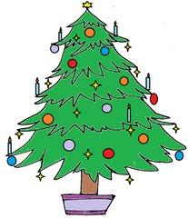 Weihnachtsbaum 4 - Weihnachten, Weihnachtsbaum, Christmas, Christmas tree, Christbaum