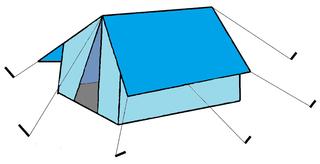 Zelt #2 - Zelt, Camping, Urlaub, Ferien, wohnen, tent, Zeichnung, Illustation, Anlaut Z