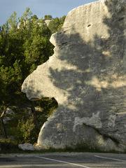 Gesicht im Profil - Felsen, Stein, Gesicht, Profil, Nase