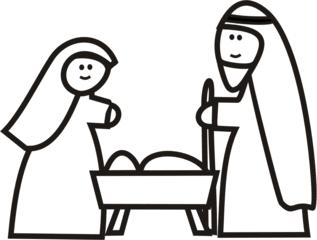 Krippe - Weihnachten, Weihnachtskrippe, Stall, Christkind, Geburt Christi, Weihnachtsgeschichte, Jesus, Jesuskind, Maria, Josef