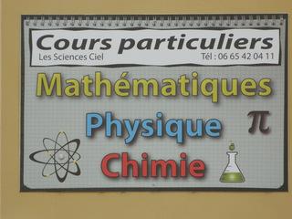 Cours particuliers - Frankreich, civilisation, cours particuliers, Nachhilfe, mathématiques, physique, chimie