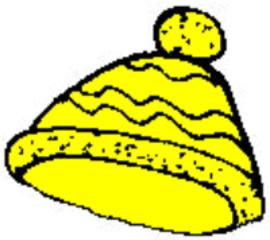 Mütze - Mütze, Wollmütze, Kleidung, woolly hat, hat, clothes, aufsetzen, Bommel, warm, Anlaut M, Pudelmütze, Haube, stricken, Kopfbedeckung