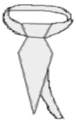 Krawatte - Krawatte, Schlips, Mode, Anzug, Kleidung, Bekleidung, Hemd, binden, Stoff, Streifen, Anlaut K, Knoten, tie, necktie