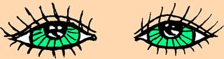 Augen - Auge, Augen, Körper, Körperteile, body, body parts, eyes, Wimpern, Iris
