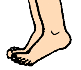 Füße - Füße, Fuß, Bein, Körper, Körperteile, body, body parts, foot, feet, leg, Wörter mit ß, Wörter mit ü