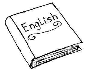 Buch - Buch, Englischbuch, English book, book, Schule, Unterricht, Schulsachen, Englisch, lesen