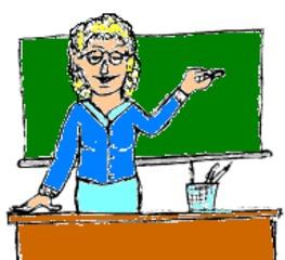 Lehrerin - Unterricht, Tafel, Schule, lernen, lehren, Lehrer, Lehrerin, Tafel, zeigen, erklären, Bildung, ausbilden
