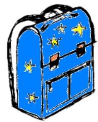 Schultasche - Schultasche, Ranzen, Tornister, Schule, Schulsachen