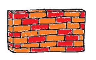 Mauer - Mauer, Wand, Raum, Zimmer, Garten, Hof, Haus, Schule