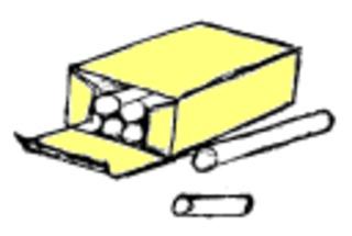 Kreide - Kreide, Tafel, schreiben, Klassenraum