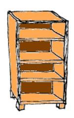 Regal - Regal, Möbel, Einrichtung, Klassenraum, Zimmer, Haus, Schule
