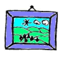 Bild - Bild, Bilderrahmen, Haus, Zimmer, Wand, Einrichtung, Klassenraum, Schule
